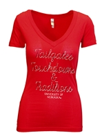 Tailgates TDs and Traditions Nebraska V Neck Tee Nebraska Cornhuskers, Nebraska  Ladies Tops, Huskers  Ladies Tops, Nebraska  Ladies T-Shirts, Huskers  Ladies T-Shirts, Nebraska  Ladies, Huskers  Ladies, Nebraska  Short Sleeve, Huskers  Short Sleeve, Nebraska Tailgates TDs and Traditions Nebraska V Neck Tee, Huskers Tailgates TDs and Traditions Nebraska V Neck Tee