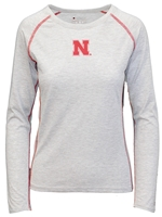 Text Me Good Life Ladies Tee Nebraska Cornhuskers, Nebraska  Ladies Tops, Huskers  Ladies Tops, Nebraska  Ladies T-Shirts, Huskers  Ladies T-Shirts, Nebraska  Ladies, Huskers  Ladies, Nebraska  Long Sleeve, Huskers  Long Sleeve, Nebraska Gray W LS Text Me N Champ Tee, Huskers Gray W LS Text Me N Champ Tee
