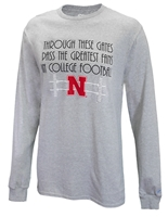 Through These Gates Greatest Husker Fans Tee Nebraska Cornhuskers, Nebraska  Mens T-Shirts, Huskers  Mens T-Shirts, Nebraska  Mens, Huskers  Mens, Nebraska  Long Sleeve, Huskers  Long Sleeve, Nebraska Through These Gates Tee, Huskers Through These Gates Tee