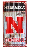 Tin Shingle Nebraska Football Nebraska Cornhuskers, Nebraska  Framed Pieces, Huskers  Framed Pieces, Nebraska  Game Room & Big Red Room, Huskers  Game Room & Big Red Room, Nebraska Tin Shingle Nebraska Football, Huskers Tin Shingle Nebraska Football