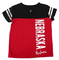 Toddler Girls Cricket Foil Nebraska Huskers Tee Nebraska Cornhuskers, Nebraska  Infant, Huskers  Infant, Nebraska  Kids, Huskers  Kids, Nebraska Toddler Girls SS Cricket Foil Tee Col, Huskers Toddler Girls SS Cricket Foil Tee Col