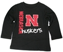 Toddlers Nebraska Huskers Longsleeve Tee Nebraska Cornhuskers, Nebraska  Childrens, Huskers  Childrens, Nebraska  Kids, Huskers  Kids, Nebraska  Infant, Huskers  Infant, Nebraska Toddlers Nebraska Huskers Longsleeve Tee , Huskers Toddlers Nebraska Huskers Longsleeve Tee