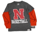 Toddlers Nebraska N Basketball LS Tee Nebraska Cornhuskers, Nebraska  Childrens, Huskers  Childrens, Nebraska  Kids, Huskers  Kids, Nebraska Toddlers Nebraska N Basketball LS Tee, Huskers Toddlers Nebraska N Basketball LS Tee