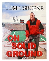 Tom Osborne Autographed On Solid Ground Print Nebraska Cornhuskers, husker football, nebraska cornhuskers merchandise, husker merchandise, nebraska merchandise, husker memorabilia, husker autographed, nebraska cornhuskers autographed, Tom Osborne autographed, Tom Osborne signed, Tom Osborne collectible, Tom Osborne, nebraska cornhuskers memorabilia, nebraska cornhuskers collectible, 1970s Autographed Picture
