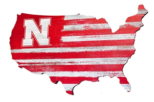 Husker Nation Wood Wall Sign Nebraska Cornhuskers, Nebraska  Bedroom & Bathroom, Huskers  Bedroom & Bathroom, Nebraska  Game Room & Big Red Room, Huskers  Game Room & Big Red Room, Nebraska  Framed Pieces, Huskers  Framed Pieces, Nebraska USA N Logo Cut Out Sign, Huskers USA N Logo Cut Out Sign