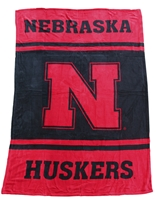 Ultrasoft Husker Blanket Nebraska Cornhuskers, Nebraska  Baseball, Huskers  Baseball, Nebraska  Basketball, Huskers  Basketball, Nebraska  Other Sports, Huskers  Other Sports, Nebraska  Tailgating, Huskers  Tailgating, Nebraska  Bedroom & Bathroom, Huskers  Bedroom & Bathroom, Nebraska Ultrasoft Husker Blanket, Huskers Ultrasoft Husker Blanket
