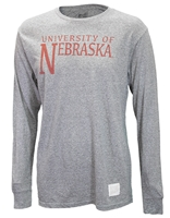 University of Nebraska Twist Not Tee Nebraska Cornhuskers, Nebraska  Mens T-Shirts, Huskers  Mens T-Shirts, Nebraska  Mens, Huskers  Mens, Nebraska  Long Sleeve, Huskers  Long Sleeve, Nebraska University of Nebraska Twist Not Tee, Huskers University of Nebraska Twist Not Tee