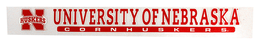 University of Nebraska Vertical Decal Nebraska Cornhuskers, Nebraska Vehicle, Huskers Vehicle, Nebraska Stickers Decals & Magnets, Huskers Stickers Decals & Magnets, Nebraska University of Nebraska Vertical Decal, Huskers University of Nebraska Vertical Decal