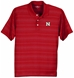 Vantage Mens Textured Stripped Polo - AP-63072