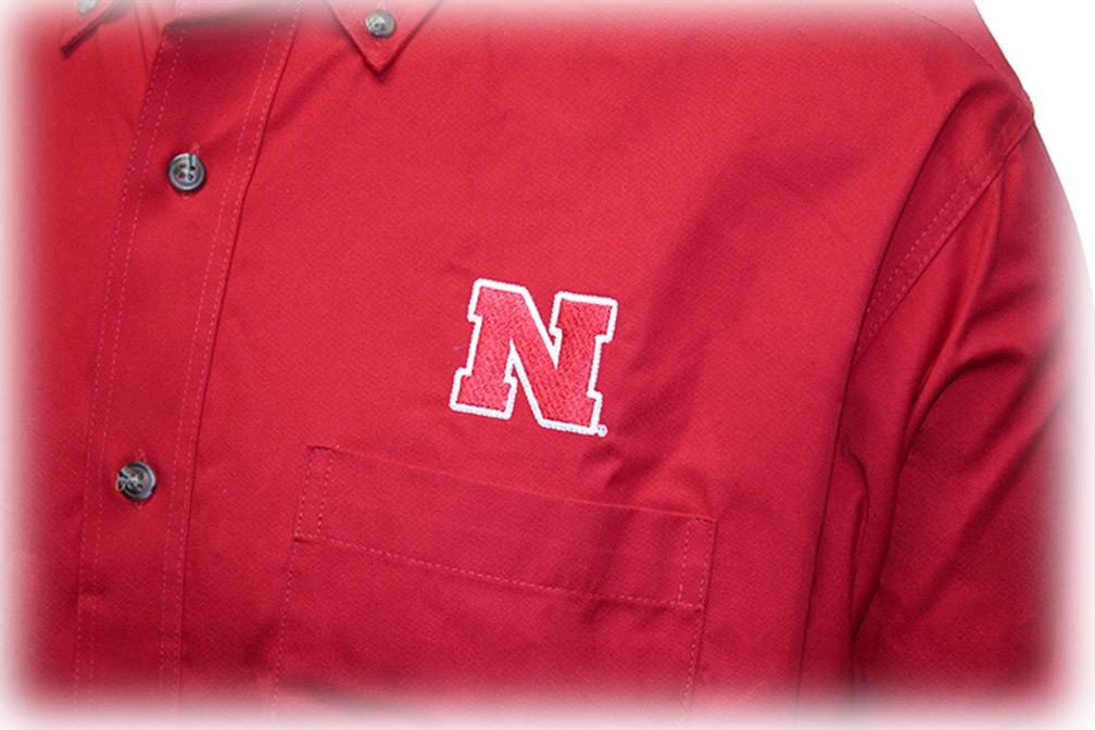 Husker Twill Dress Shirt - AP-63187