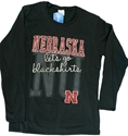WMN LONG SLEEVE SPIRIT T Nebraska Cornhuskers, Nebraska  Ladies, Huskers  Ladies, Nebraska  Long Sleeve, Huskers  Long Sleeve, Nebraska  Ladies T-Shirts, Huskers  Ladies T-Shirts, Nebraska Ladies Long Sleeve Spirit Tee, Huskers Ladies Long Sleeve Spirit Tee