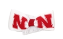 White Lace Baby Headband N Bow Nebraska Cornhuskers, Nebraska  Childrens, Huskers  Childrens, Nebraska  Infant, Huskers  Infant, Nebraska  Kids, Huskers  Kids, Nebraska  Head Bands, Huskers  Head Bands, Nebraska White Lace Baby Headband N Bow, Huskers White Lace Baby Headband N Bow
