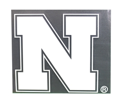 White Nebraska N Color Shock Decal Nebraska Cornhuskers, Nebraska Vehicle, Huskers Vehicle, Nebraska Stickers Decals & Magnets, Huskers Stickers Decals & Magnets, Nebraska White Nebraska N Color Shock Decal, Huskers White Nebraska N Color Shock Decal