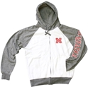 White and Oxford Iron N Full Zip Hoodie Nebraska Cornhuskers, Nebraska  Mens Sweatshirts, Huskers  Mens Sweatshirts, Nebraska  Mens, Huskers  Mens, Nebraska  Zippered, Huskers  Zippered, Nebraska  Hoodies, Huskers  Hoodies, Nebraska Dark Oxford Huskers Full Zip Hoodie, Huskers Dark Oxford Huskers Full Zip Hoodie
