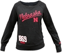 Womens Black Nebraska Boatneck Crew Sweatshirt Nebraska Cornhuskers, Nebraska  Ladies Sweatshirts, Huskers  Ladies Sweatshirts, Nebraska  Ladies, Huskers  Ladies, Nebraska  Crew, Huskers  Crew, Nebraska Womens Black Nebraska Boatneck Crew Sweatshirt, Huskers Womens Black Nebraska Boatneck Crew Sweatshirt
