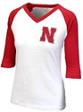 Husker Gals V-Neck Camp Tee Nebraska Cornhuskers, Nebraska  Ladies Tops, Huskers  Ladies Tops, Nebraska  Ladies, Huskers  Ladies, Nebraska  Ladies T-Shirts, Huskers  Ladies T-Shirts, Nebraska  Short Sleeve, Huskers  Short Sleeve, Nebraska Womens V-Neck Camp Tee League, Huskers Womens V-Neck Camp Tee League