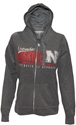 Womens Charcoal Full Zip Hooded Sweatshirt Nebraska Cornhuskers, Nebraska  Ladies Sweatshirts, Huskers  Ladies Sweatshirts, Nebraska  Ladies, Huskers  Ladies, Nebraska  Zippered, Huskers  Zippered, Nebraska  Hoodies, Huskers  Hoodies, Nebraska Womens Charcoal Full Zip Hooded Sweatshirt, Huskers Womens Charcoal Full Zip Hooded Sweatshirt