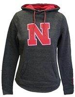 Womens Big Red N Crossover Hoodie Nebraska Cornhuskers, Nebraska  Ladies Sweatshirts, Huskers  Ladies Sweatshirts, Nebraska  Ladies, Huskers  Ladies, Nebraska  Hoodies, Huskers  Hoodies, Nebraska Red W Inward Crossover Hoodie Col, Huskers Red W Inward Crossover Hoodie Col