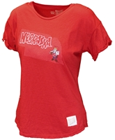 Young Ladies Herbie Husker State Tee Nebraska Cornhuskers, Nebraska  Youth, Huskers  Youth, Nebraska  Kids, Huskers  Kids, Nebraska Girls Herbie Husker Tee, Huskers Girls Herbie Husker Tee