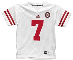 Youth Adidas Frost #7 Away Jersey Nebraska Cornhuskers, Nebraska  Kids Jerseys, Huskers  Kids Jerseys, Nebraska  Youth, Huskers  Youth, Nebraska Adidas White Youth Jersey, Huskers Adidas White Youth Jersey