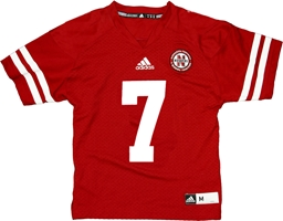 Youth Adidas Frost #7 Home Jersey Nebraska Cornhuskers, husker football, nebraska cornhuskers merchandise, nebraska merchandise, husker merchandise, nebraska cornhuskers apparel, husker apparel, nebraska apparel, husker youth apparel, nebraska cornhuskers youth apparel, nebraska kids apparel, husker kids apparel, husker kids merchandise, nebraska cornhuskers kids merchandise,Custom Adidas Youth Replica Jersey