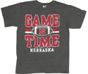Youth Black Heather Game Time Football Tee Nebraska Cornhuskers, Nebraska  Kids, Huskers  Kids, Nebraska  Youth, Huskers  Youth, Nebraska  Short Sleeve, Huskers  Short Sleeve, Nebraska Youth Black Heather Game Time Football Tee, Huskers Youth Black Heather Game Time Football Tee