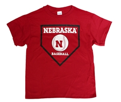 Youth Nebraska Baseball Plate Tee Nebraska Cornhuskers, Nebraska  Youth, Huskers  Youth, Nebraska  Kids, Huskers  Kids, Nebraska Youth Nebraska Baseball Plate Tee, Huskers Youth Nebraska Baseball Plate Tee