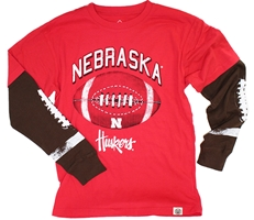 Youth Nebraska Huskers Football LS Tee Nebraska Cornhuskers, Nebraska  Youth, Huskers  Youth, Nebraska  Kids, Huskers  Kids, Nebraska Youth Nebraska Huskers Football LS Tee, Huskers Youth Nebraska Huskers Football LS Tee
