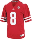 Adidas #8 Replica Football Jersey Nebraska Cornhuskers, Nebraska Jerseys, Huskers Jerseys, Nebraska  Mens Jerseys, Huskers  Mens Jerseys, Nebraska Mens, Huskers Mens, Nebraska  Mens Jerseys, Huskers  Mens Jerseys, Nebraska Adidas #8 Replica Football Jersey, Huskers Adidas #8 Replica Football Jersey