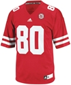 Adidas #80 Replica Football Jersey Nebraska Cornhuskers, Nebraska Jerseys, Huskers Jerseys, Nebraska  Mens Jerseys, Huskers  Mens Jerseys, Nebraska Mens, Huskers Mens, Nebraska  Mens Jerseys, Huskers  Mens Jerseys, Nebraska Adidas #80 Replica Football Jersey, Huskers Adidas #80 Replica Football Jersey