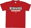 RED NE BASEBALL TEE Nebraska Cornhuskers, husker football, nebraska cornhuskers merchandise, nebraska merchandise, husker merchandise, nebraska cornhuskers apparel, husker apparel, nebraska apparel, husker mens apparel, nebraska cornhuskers mens apparel, nebraska mens apparel, husker mens merchandise, nebraska cornhuskers mens merchandise, mens nebraska t shirt, mens husker t shirt, mens nebraska cornhusker t shirt,RED NE BASEBALL TEE