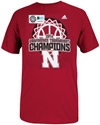 Adidas Ladies Big Ten Champs Tee Nebraska Cornhuskers, Nebraska  Ladies, Huskers  Ladies, Nebraska  Mens T-Shirts, Huskers  Mens T-Shirts, Nebraska  Mens, Huskers  Mens, Nebraska  Basketball, Huskers  Basketball, Nebraska  Short Sleeve, Huskers  Short Sleeve, Nebraska  Ladies T-Shirts, Huskers  Ladies T-Shirts, Nebraska Adidas Ladies Big Ten Champs Tee, Huskers Adidas Ladies Big Ten Champs Tee