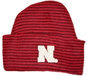 STRIPED NEWBORN KNIT CAP Nebraska Cornhuskers, husker football, nebraska cornhuskers merchandise, nebraska merchandise, husker merchandise, nebraska cornhuskers apparel, husker apparel, nebraska apparel, husker infant and toddler apparel, nebraska cornhuskers infant and toddler apparel, nebraska kids apparel, husker kids apparel, husker kids merchandise, nebraska cornhuskers kids merchandise,STRIPED NEWBORN KNIT CAP