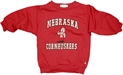 3ST RED FLEECE CREW LIL RED CNHSKR Nebraska Cornhuskers, husker football, nebraska cornhuskers merchandise, nebraska merchandise, husker merchandise, nebraska cornhuskers apparel, husker apparel, nebraska apparel, husker childrens apparel, nebraska cornhuskers childrens apparel, nebraska kids apparel, husker kids apparel, husker kids merchandise, nebraska cornhuskers kids merchandise,Red Fleece Crew Lil Red Nebr Cornhuskers