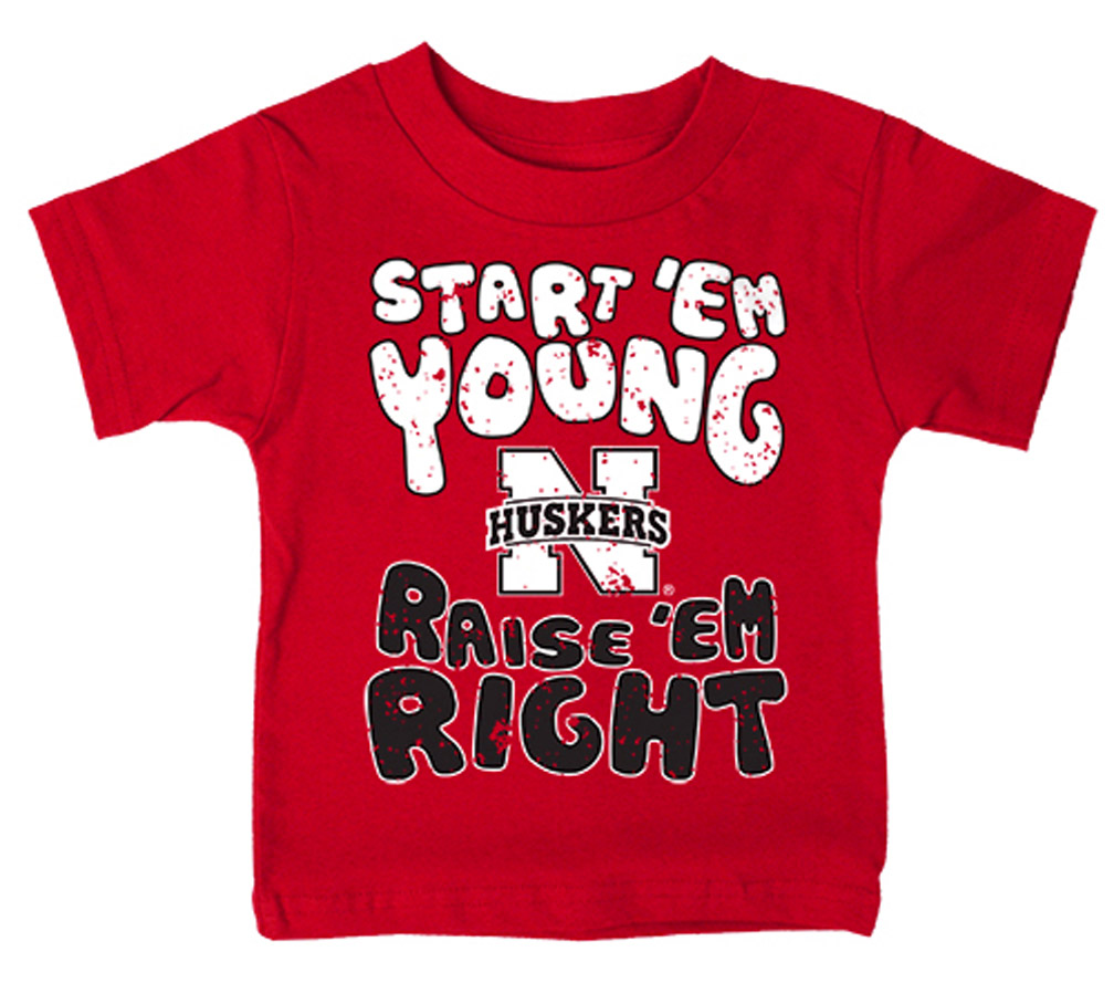 Infant Training Tee Nebraska Cornhuskers, Nebraska  Infant, Huskers  Infant, Nebraska  Kids, Huskers  Kids, Nebraska Infant Training Tee, Huskers Infant Training Tee