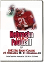 1982 Ou Game On Dvd Tv Broad Husker football, Nebraska cornhuskers merchandise, husker merchandise, nebraska merchandise, nebraska cornhuskers dvd, husker dvd, nebraska football dvd, nebraska cornhuskers videos, husker videos, nebraska football videos, husker game dvd, husker bowl game dvd, husker dvd subscription, nebraska cornhusker dvd subscription, husker football season on dvd, nebraska cornhuskers dvd box sets, husker dvd box sets, Nebraska Cornhuskers, 1982 Oklahoma game, TV Broadcast