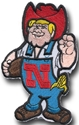 4 Inch Herbie Patch S Nebraska Cornhuskers, 4 Inch Herbie Patch