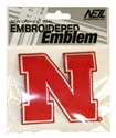 IRON N PATCH 3 INCH Nebraska Cornhuskers, Iron N Patch 3 Inch