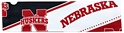 NEBRASKA PATTERNED STRETCH HEADBAND (3.125 X 11.125) Nebraska Cornhuskers, Elastic Headband