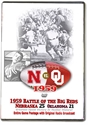1959 Oklahoma With Bob Zenner Husker football, Nebraska cornhuskers merchandise, husker merchandise, nebraska merchandise, nebraska cornhuskers dvd, husker dvd, nebraska football dvd, nebraska cornhuskers videos, husker videos, nebraska football videos, husker game dvd, husker bowl game dvd, husker dvd subscription, nebraska cornhusker dvd subscription, husker football season on dvd, nebraska cornhuskers dvd box sets, husker dvd box sets, Nebraska Cornhuskers, 1959 Upset Victory over Oklahoma!