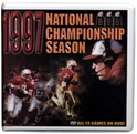 1997 Championship Season Box Set Husker football, Nebraska cornhuskers merchandise, husker merchandise, nebraska merchandise, nebraska cornhuskers dvd, husker dvd, nebraska football dvd, nebraska cornhuskers videos, husker videos, nebraska football videos, husker game dvd, husker bowl game dvd, husker dvd subscription, nebraska cornhusker dvd subscription, husker football season on dvd, nebraska cornhuskers dvd box sets, husker dvd box sets, Nebraska Cornhuskers, 1997 Championship Season DVD Box Set