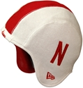 N ERA CHILDRENS WHITE KNIT HELMET HAT Nebraska Cornhuskers, husker football, nebraska cornhuskers merchandise, nebraska merchandise, husker merchandise, nebraska cornhuskers apparel, husker apparel, nebraska apparel, husker youth apparel, nebraska cornhuskers youth apparel, nebraska kids apparel, husker kids apparel, husker kids merchandise, nebraska cornhuskers kids merchandise,New Era Youth White Knit Helmet-Like N