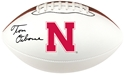 Osborne Signed Football Nebraska Cornhuskers, husker football, nebraska cornhuskers merchandise, husker merchandise, nebraska merchandise, husker memorabilia, husker autographed, nebraska cornhuskers autographed, Tom Osborne autographed, Tom Osborne signed, Tom Osborne collectible, Tom Osborne, nebraska cornhuskers memorabilia, nebraska cornhuskers collectible, Osborne Autographed Ball