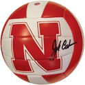 John Cook Autographed V.Ball Nebraska Cornhuskers, husker volleyball, nebraska cornhuskers merchandise, husker merchandise, nebraska merchandise, husker memorabilia, husker autographed, nebraska cornhuskers autographed, John Cook autographed, John Cook signed, John Cook collectible, John Cook, nebraska cornhuskers memorabilia, nebraska cornhuskers collectible, John Cook Autographed  Volleyball