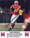Crouch Autog  8 X 10 Photo Nebraska Cornhuskers, husker football, nebraska cornhuskers merchandise, husker merchandise, nebraska merchandise, husker memorabilia, husker autographed, nebraska cornhuskers autographed, nebraska cornhuskers memorabilia, nebraska cornhuskers collectible, Crouch Autographed Photo