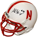 HENERY SIGNED MINI HELMET Nebraska Cornhuskers, husker football, nebraska cornhuskers merchandise, husker merchandise, nebraska merchandise, husker memorabilia, husker autographed, nebraska cornhuskers autographed, nebraska cornhuskers memorabilia, nebraska cornhuskers collectible, Alex Henery Autographed Mini