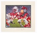 ON SALE Frazier 1995 Print Nebraska Cornhuskers, husker football, nebraska cornhuskers merchandise, husker merchandise, nebraska merchandise, husker memorabilia, husker autographed, nebraska cornhuskers autographed, Tom Osborne autographed, Tom Osborne signed, Tom Osborne collectible, Tom Osborne, nebraska cornhuskers memorabilia, nebraska cornhuskers collectible, ON SALE  Frazier Print