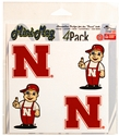 N LILRED MINI MAGNETS Nebraska Cornhuskers, Nebraska Vehicle, Huskers Vehicle, Nebraska Stickers Decals & Magnets, Huskers Stickers Decals & Magnets, Nebraska  Game Room & Big Red Room   , Huskers  Game Room & Big Red Room   , Nebraska N Helmet Magnet, Huskers N Helmet Magnet