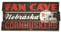 Fan Cave Plank Wood Sign Nebraska Cornhuskers, Nebraska  Bedroom & Bathroom, Huskers  Bedroom & Bathroom, Nebraska  Game Room & Big Red Room, Huskers  Game Room & Big Red Room, Nebraska  Office Den & Entry, Huskers  Office Den & Entry, Nebraska  Framed Pieces, Huskers  Framed Pieces, Nebraska Fan Cave Plank Wood Sign, Huskers Fan Cave Plank Wood Sign