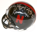 Heisman Osborne Black Mini Nebraska Cornhuskers, Nebraska One of a Kind, Huskers One of a Kind, Nebraska Heisman Osborne Black Mini, Huskers Heisman Osborne Black Mini
